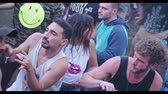 crazy : KINERET, ISRAEL, April 6 2018- People dancing in a nature trance party