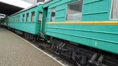 kolej : Railway locomotive, wagons in the train wagon
