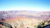 estados unidos : View of grand Canyon from South Rim in the Winter. Stock Footage