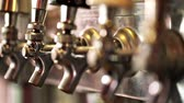 baton : Close up of beer lines for draft beer in restaurant.