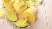 caloria : Homemade low calorie ice cream made with mango, pineapple and coconut milk.