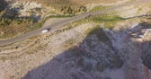 горный хребет : Aerial view of mountains at Grand Mesa Scenic Byway near Grand Junction, Colorado.