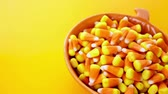 dezert : Candy corn prepared as Halloween treats.