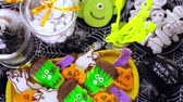 wazon : Variety of sweets prepared as Halloween treats.