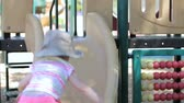 nemluvně : Toddler playing at outdoor playground.