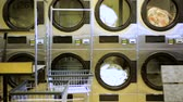 ticari : Industrial washing machines in a public self service laundry