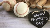 beisebol : Celebrating Fathers Day for baseball dad.