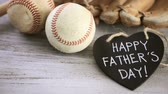 křída : Celebrating Fathers Day for baseball dad.