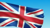 union : Waving Great Britain flag