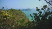 tekneler : View Of Cat Ba Island And Halong Bay, Vietnam