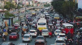 přeplněný : Congested Road In Hanoi, Busy Rush Hour, Infrastructure, Transportation, Vietnam