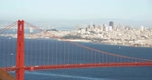 Golden Gate Bridge, San Francisco City Scape