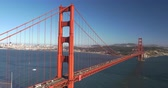 Iconische oriëntatiepunt: Golden Gate Bridge, San Francisco City Scenic, Californië