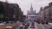 Traffic jams in Moscow