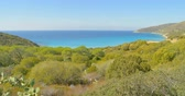 vlnit se : Panoramic sea view at summer sunny day. Sea landscape.