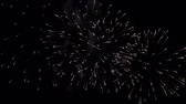 contagem regressiva : Festival fireworks in the sky Stock Footage