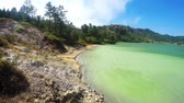 カルデラ : Sulphurous lake - Danau Linow, North Sulawesi Indonesia