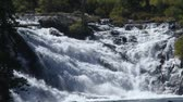 yellowstone : Waterfalls in yellowstone Stock Footage