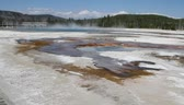 yellowstone : Geysers in yellowstone