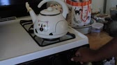 chamas : Heating water in kettle