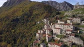 toscana : The Old Town in the Mountains