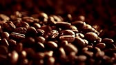 laktózy : Coffee beans rotation in the slowed-down movement macro.