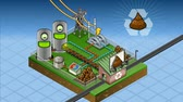 rostlina : isometric biomass plant in production of energy