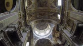 novembro : NAPLES, ITALY - CIRCA NOVEMBER 2013: Church of Santi Apostoli