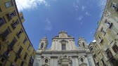 NAPLES, ITALY - CIRCA OCTOBER 2013: Cathedral of Gerolomini