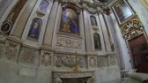 NAPLES, ITALY - CIRCA NOVEMBER 2013: Church of Santi Apostoli