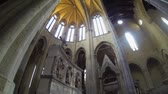 NAPLES, ITALY - CIRCA DECEMBER 2013: San Gaetano Church Stock Footage