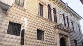 VERONA ITALY - CIRCA DECEMBER 2013: Facade of Diamonds Palace