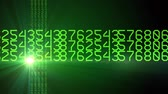 green horizontal rotating numbers