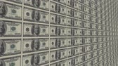 custo : sheet of money Stock Footage