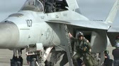 airforce : f 18 and f 16 pilots participate in top gun jet fighter training