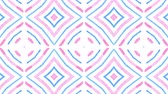 Kaleidoscope seamless loop sequence mandala patterns abstract multicolored motion graphics background. Ideal for yoga, clubs, shows Stock mozgókép