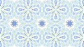 floral ornament : Kaleidoscope seamless loop sequence mandala patterns abstract multicolored motion graphics background. Ideal for yoga, clubs, shows Stock Footage