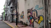 wandbild : A mural in  a street of Kluang Johor Malaysia. a new attraction to tourist