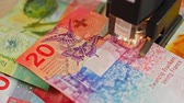 pagamento : CHF 20 close up, swiss francs, Switzerland