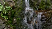 fonte : Mountain waterfall. A source. Waterfall Healing water. Water.