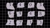 on oniki yaşında : graph paper numbers