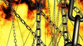 flammable : warping through chains on fire