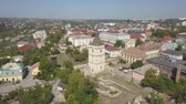 bástya : Aerial view of historic city of Kamianets-Podilskyi, Ukraine.