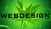 web design : Webdesign Animation Stock Footage