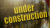 Under Construction  Stock Footage