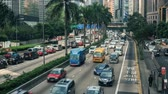 Traffic in Asian City Wideo