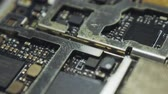 Dark Printed Circuit Board inside smartphone v03