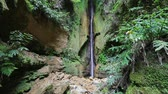 san miguel : Salto do Rosal waterfall located close to Furnas lake (Lagoa das Furnas), Sao Miguel island, Azores, Portugal
