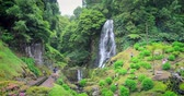 flowing : Veu da Noiva waterfall, Sao Miguel island, Azores, Portugal