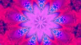psychedelic pattern : Purple star kaleidoscope
